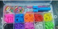 rubber band rainbow loom - Hot New Rainbow Loom Kit DIY Wrist Bands rubber band Complete Bundle Kit Rainbow Loom Bracelet for kids