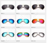 ants eyes - 9 design New fashion gray ant hexcel sunglasses men and women of the classic yurt eye color film solar LJJK61