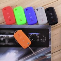 Wholesale Silicone car key cover remote cover for Volkswagen VW Series auto accessories