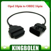 Wholesale Opel Pin To Pin OBD2 Car Extension Diagnostic tool connector Cable Opel PIN OBD OBD2 Cable