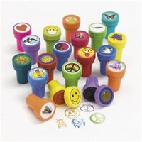 assorted rubber stamps - Zorn Store Children Baby students Novelty Assorted Plastic Stamps signet Cute cartoon seal signet cm cm Count