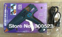 Cheap Fedex,DHL,EMS,free shipping, 300W digital display thermostat EU plug hot melt glue gun,industrial glue gun, 1 pcs lot
