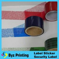 Wholesale VOID warranty sticker tamper evident security tape open void