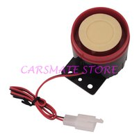 Wholesale Good Quality Universal Six Tone Siren Horn For Motorcycle Motorbike Alarms DC12V dB With cm Wire Car