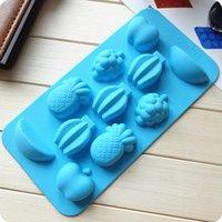 Cheap 20*10.5*1.6cm fruit style silicone cake decorating tools bico de confeiteiro silicone bakeware free shipping