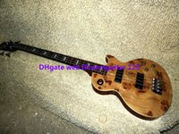Wholesale BASS Guitars Newest Natural strings Electric BASS Wooden High Quality guitars from China