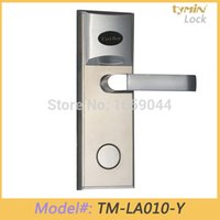 hotel lock - Software Operated Optional Electronic Keyless kHz Key Card RFID Hotel Door Lock