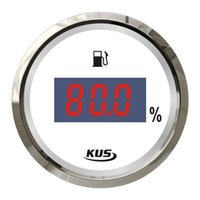 Wholesale Kus mm digital type fuel oil liquid tank level gauge for engine generator marine boat yatch car instrument accessories ohm