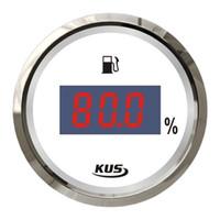 Wholesale Kus mm digital type fuel oil liquid tank level gauge for engine generator marine boat yatch car instrument accessories ohm