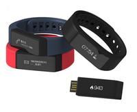 Wholesale Original iwown I5 Plus Smart Wristband Bluetooth Activity Bracelet Intelligent Sports Watch Step Sleep Track Caller ID Display Smartband