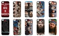 Wholesale Protective shell case for iphone S S C new duck dynasty series