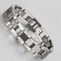 bars suppliers - Wollet Jewelry Years Professional Korea Germanium Titanium Jewelry Supplier Factory Whosesale cm mm Men s TitaniumMagnetic Bracelet