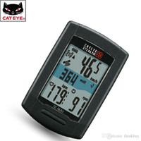 bicycle computer gps - CATEYE Cycling Mountain Road Bike Bicycle STEALTH Wireless GPS Computer Speedometer With Functions Black