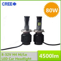 new car launch - New Cree W LM K K K No Ballast All In One H4 LED Car Headlight