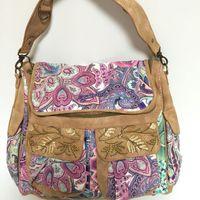 flower handbags - flower Spain brand Womens desigual BAG Ladies bag Handbag Messenger Shoulder Bag M51x51W2
