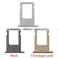 Wholesale 5pcs New Original Sim Card Tray for iPhone Silver Gold Gray inch order lt no track