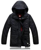 anorak jackets - Fall Wellensteyn duck down jacket warm winter anorak coat men winterjas heren arctic parka veste hiver homme abrigos hombres invierno