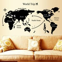 best life - Creative World Map Wall Sticker Scratch World Travel Ma Decorative Poster Where Have You Been Geography Teaching Fun Toy Best gift
