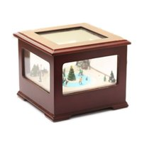christmas music box - Freeshipping Christmas music boxes Valentines Gifts