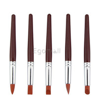 Wholesale 5 set Shaping Sculpture Clay Carving Tools Middle size Eraser Pen for Remove Fingerprints on The Sculpture Product H2595
