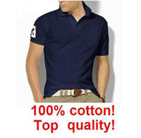 Wholesale 100 Cotton t shirt men Men s Short Sleeve slim fit Shirt shirt men brand colors sizes S10000