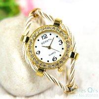 bangle watch for women - 20pcs Casual Watch for Women Quartz Bangle Wristwatch Mixed Color Free Ship