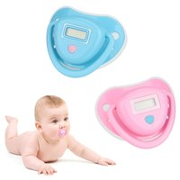 Wholesale Baby Nipple Thermometer Electronic Digital Pacifier Water resistant LCD Display DT A