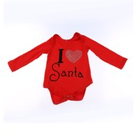 plain clothing - Baby Romper Boutique Remakes Plain Red Baby Christmas Bodysuit Baby Clothing Pattern Jumpsuit Kids Winter Jumpsuit