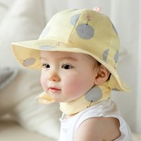 balloon hat - Hot Sale Unisex Baby Boy Girl Cute Cotton Beanie Hat Soft Toddler Infant Cap New fall children s balloons Bumao baby basin cap baby hat chil