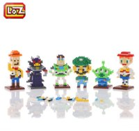 Wholesale LOZ Li Zhi pincha toys small yellow doll toy Zhang Jie with small particles of creative building blocks