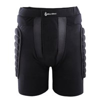 Wholesale WOLFBIKE Outdoor Sport Protective Hip Pad Padded Ski Shorts Skiing Skating Snowboarding Impact Racing Protection Black M XL