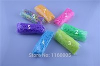 Cheap (600Pack lot) Mix 12 styles 103colors glow in the dark glitter tie dye metallic solid refill loom rubber bands free shipping