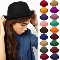 ladies felt cloche hats cap