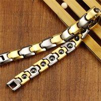amethyst hardness - fashion jewelry tungsten hardness magnetic health bracelets tungsten steel WS935