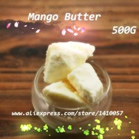 Cheap Wholesale-Mango Oil Pure Essential Oil   Mango Butter 500G Cosmetics Skin Care Products Base Oil Soap Raw Materials 2015 Hot Sale