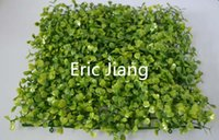 Wholesale Top cheap artificial plastic boxwood mat UV protect buxus mat