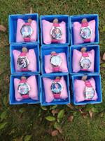 Precio de Gifts-CONGELADOS los niños ven los niños en caja de regalo de cumpleaños watchfrozen congelada elsa envío libre Relojes Nuevos congelados