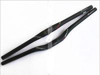 bicycle bars - EC90 Full Carbon Fiber MTB road Bicycle Handlebar mtb mountain bike Flat rise bent bar mm bicicleta