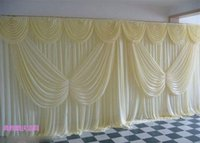Wholesale Hot High Quality Wedding Backdrop Curtain Angle Wings Sequined Cheap Wedding Decorations m m Cloth Background Scene Wedding Decor Supplies