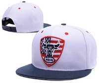 Wholesale 910 New Arrival Fashion Bulls Embroidery Cotton Sport Snapback Basketball Caps With Box