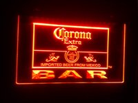 beer corona - b Corona Extra Beer Bar Pub Club Logo LED Neon Light Sign