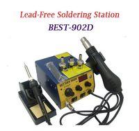best soldering station - Hot sale BEST D in digital intelligent lead free spiral hot air gun soldering station
