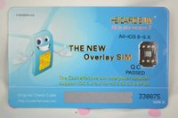 Wholesale without mobie phone jailbreak HEICARD VERSIOND IP64D unlock card for iphone s s plus iso8 support g g g