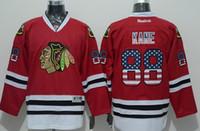 Wholesale High quality Flag Edition Blackhawks HOSSA HOSSA CRAWFORD SHAW SHARP KANE Mix order Ice Hockey jerseys