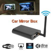 Wholesale Universal Car Wi Fi Mirror Box for any Car Audio Car Smart Screen Mirroring Miracast DLNA Airplay Wi Fi Mirror Box