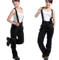 Wholesale hot new autumn and winter fashion brand women sports pants hiking pants waterproof breathable ski pants