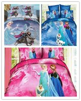 Cheap 100% Cotton 3D bedding set Best 3D Printed Home frozen