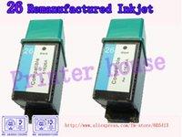 Frete Grátis por DHL / EMS !! Atacado cartuchos remanufaturados para HP 51626A 26 cartuchos jato de tinta (10PCS / lot)