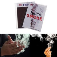 Wholesale Novelty Smoke Magic Trick Magic Illusion Stage Close Up Stand Up Smoke Magic tool Christmas Celebration Supplies