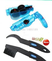 Wholesale pc Bicycle Chain Cleaner Cycling Clean Brushes Tool kits pc Brush Cleaner Machine